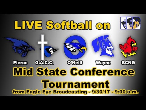 Mid State Conference Softball - LIVE From O'Neill, Nebraska