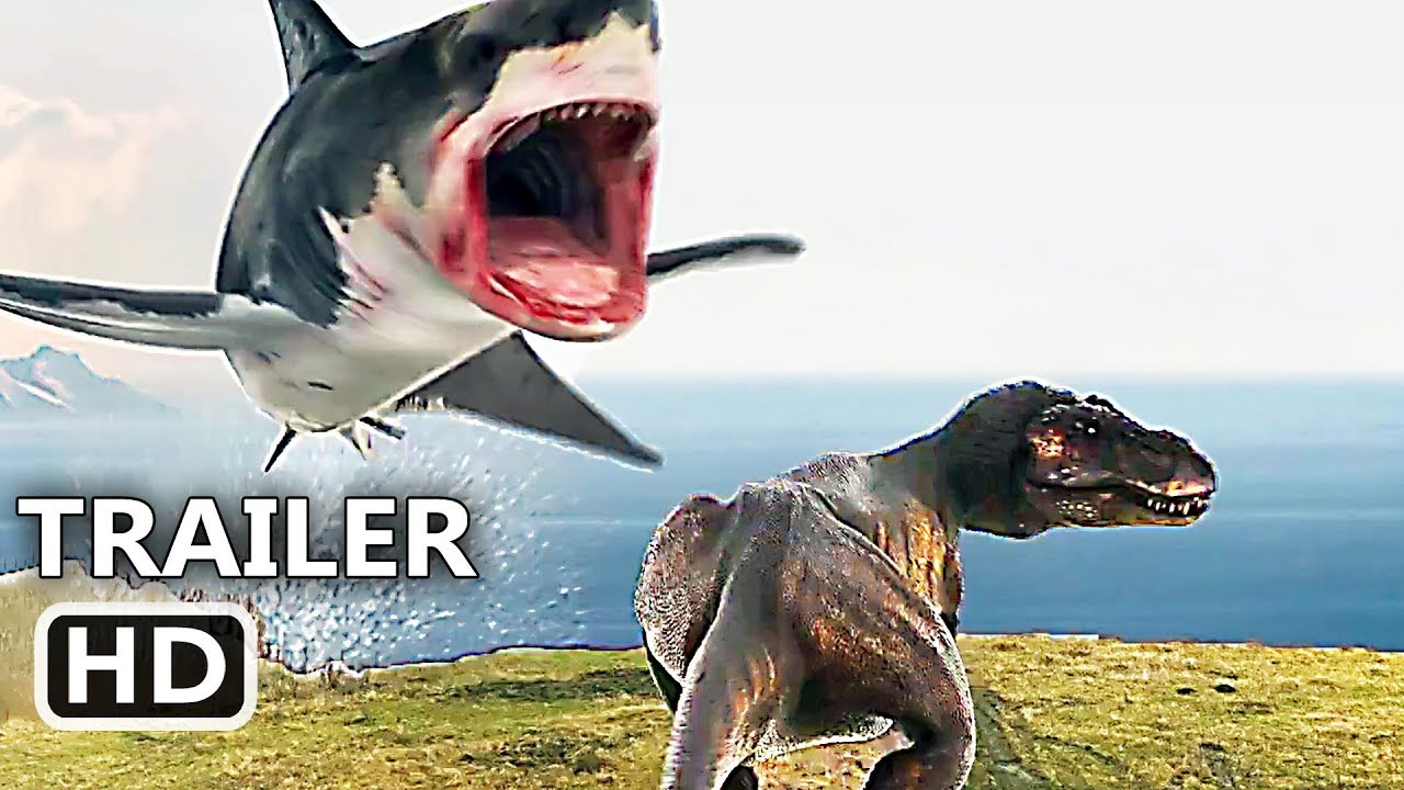 "SHARKNADO 6 ""Shark VS T-Rex"" Trailer (NEW 2018) The Last Sharknado Movie HD"