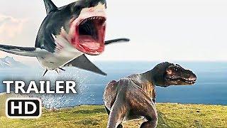 """SHARKNADO 6 """"Shark VS T-Rex"""" Full Final Trailer (NEW 2018) The Last..."""