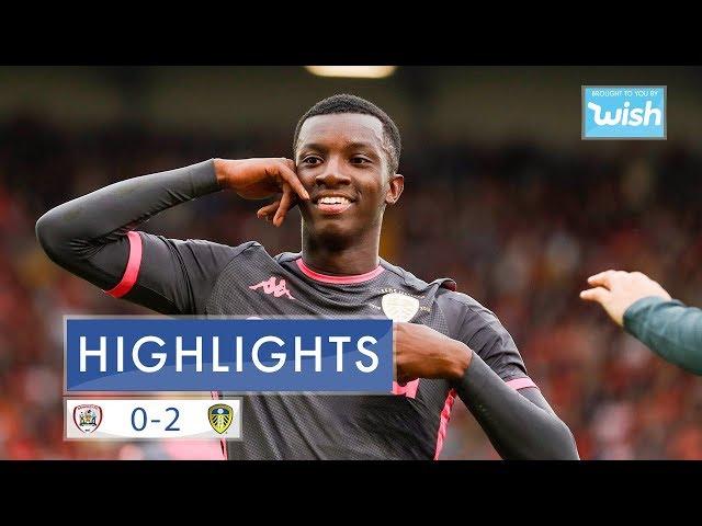 Highlights | Barnsley 0-2 Leeds United | EFL Championship