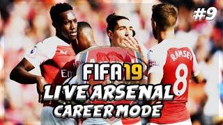 FIFA 19 LIVE Arsenal Career Mode #9 | AFTV Young Gunz