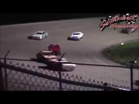2018 Southwest Speedway  Dickinson ND   Hobby Stock Main Event John Garrigan Jr.