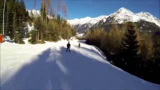 видео Австрия, Зельден (Soelden): горнолыжный курорт