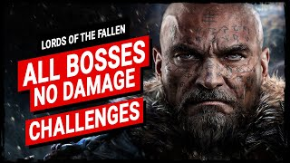 Lords of the Fallen - All Bosses【No Damage* & Challenges】