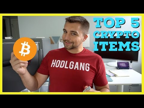 Top 5 Items You NEED If You Own Or Want To Buy Cryptocurrency (Bitcoin)