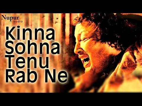 Kinna Sohna Tenu Rab Ne - Nusrat Fateh Ali Khan Live | Evergreen Qawwali | Nupur Audio
