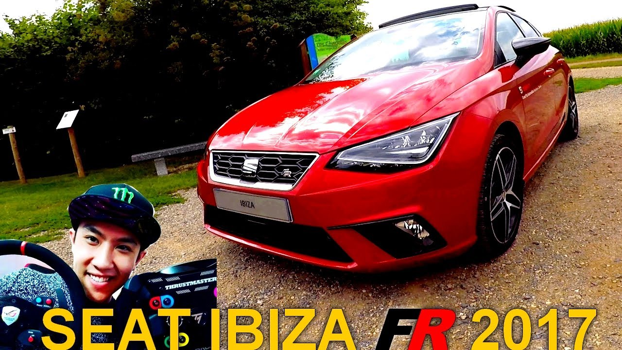 pr sentation de la nouvelle seat ibiza fr 2017 1 youtube. Black Bedroom Furniture Sets. Home Design Ideas