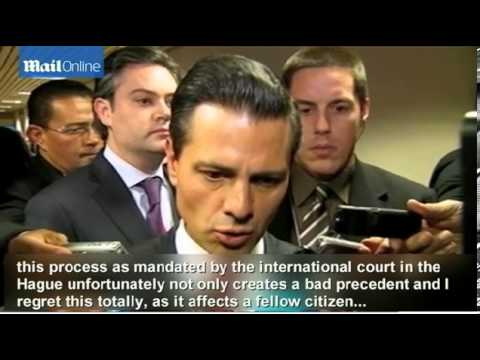 Mexican President regrets execution of Tamayo in US