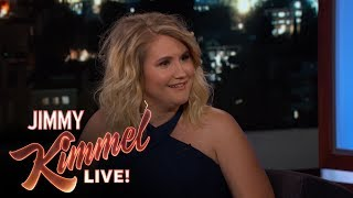 Jillian Bell & Jimmy Kimmel on Growing Up in Vegas