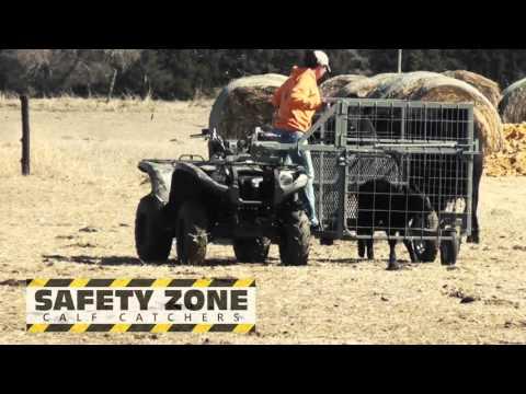 Safety Zone Calf Catcher