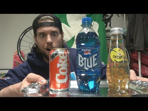 Rare Discontinued Soda Taste Test (Warning: Nostalgia) | L.A. BEAST