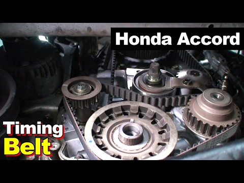 2002 Honda Accord Timing Belt Balance Shaft Valve Cover Tune Up