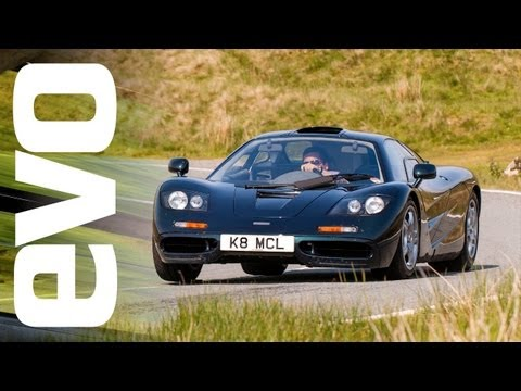 McLaren F1 and Ferrari F40 vs analogue rivals | evo TV