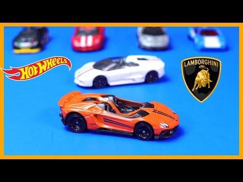 NEW Hot Wheels Lamborghini Aventador J & Reventon Roadster *First Look*