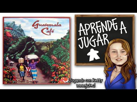 Guatemala Cafe Juego De Mesa Boardgame Youtube