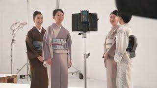 【日本和装】2021年TVCM CM撮影 メイキング