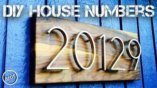 HOUSE  NUMBER  MAKEOVER