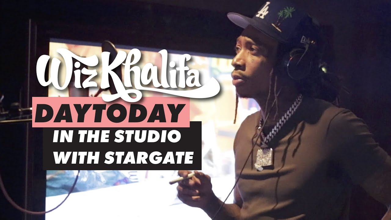 Download Wiz Khalifa - DayToday - In the studio w/ Stargate (They made Black & Yellow) *hidden freestyle