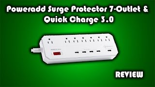 Poweradd Quick Charge 3.0 Surge Protector Review