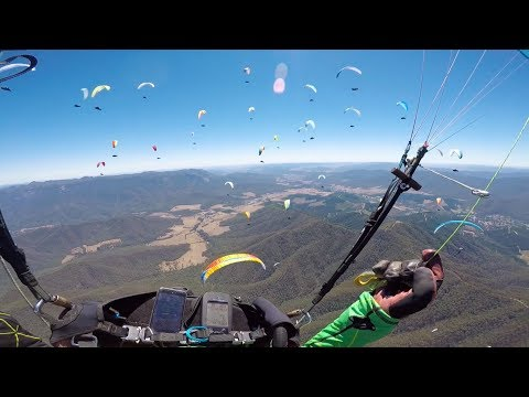 Paragliding World Cup Australia   Task 2 - 800m from goal