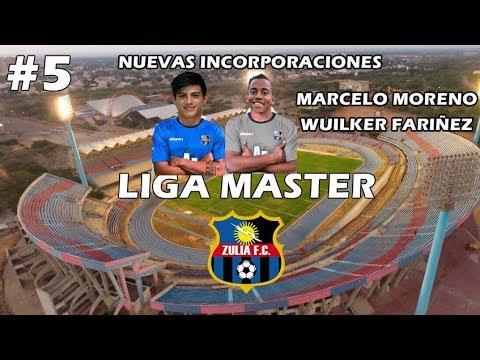 PES 6 LIGA MASTER | Nuevos Fichajes Wuilker Fariñez y Marcelo Moreno