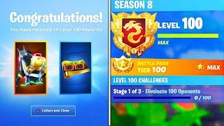 The New FREE LEVEL 100 REWARDS in Fortnite!