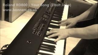 Roland RD800 Piano Sound Demo