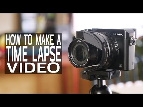 How To Make A Time Lapse