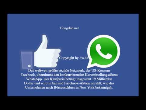 Bản Tin Tiếng Đức (Nói Chậm) Facebook mua Whatsapp