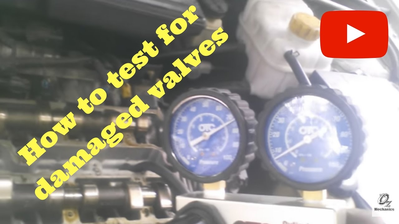 How To Test For Damaged Valves When Timing Belt Breaks Youtube 1999 Lexus Ls