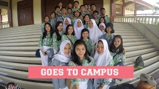 GOES TO CAMPUS #01