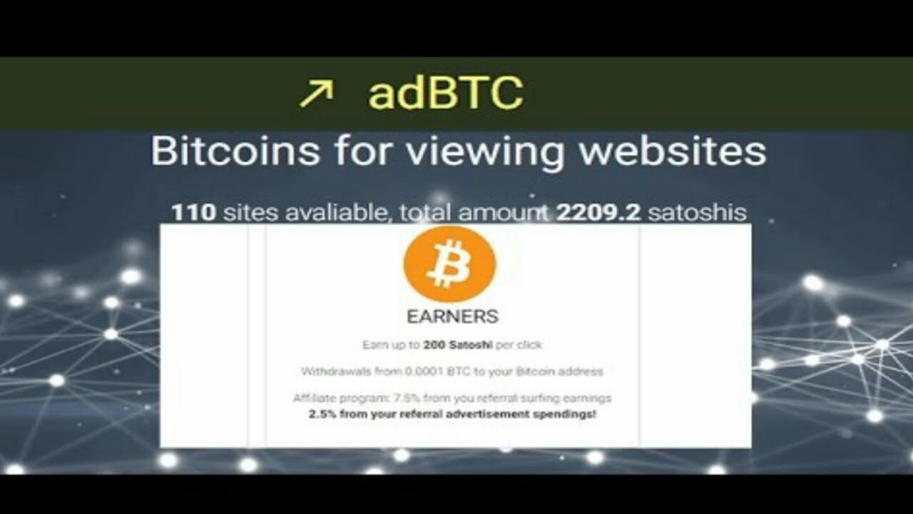 Earn 1 Bitcoin Per Month For Viewing Ads -