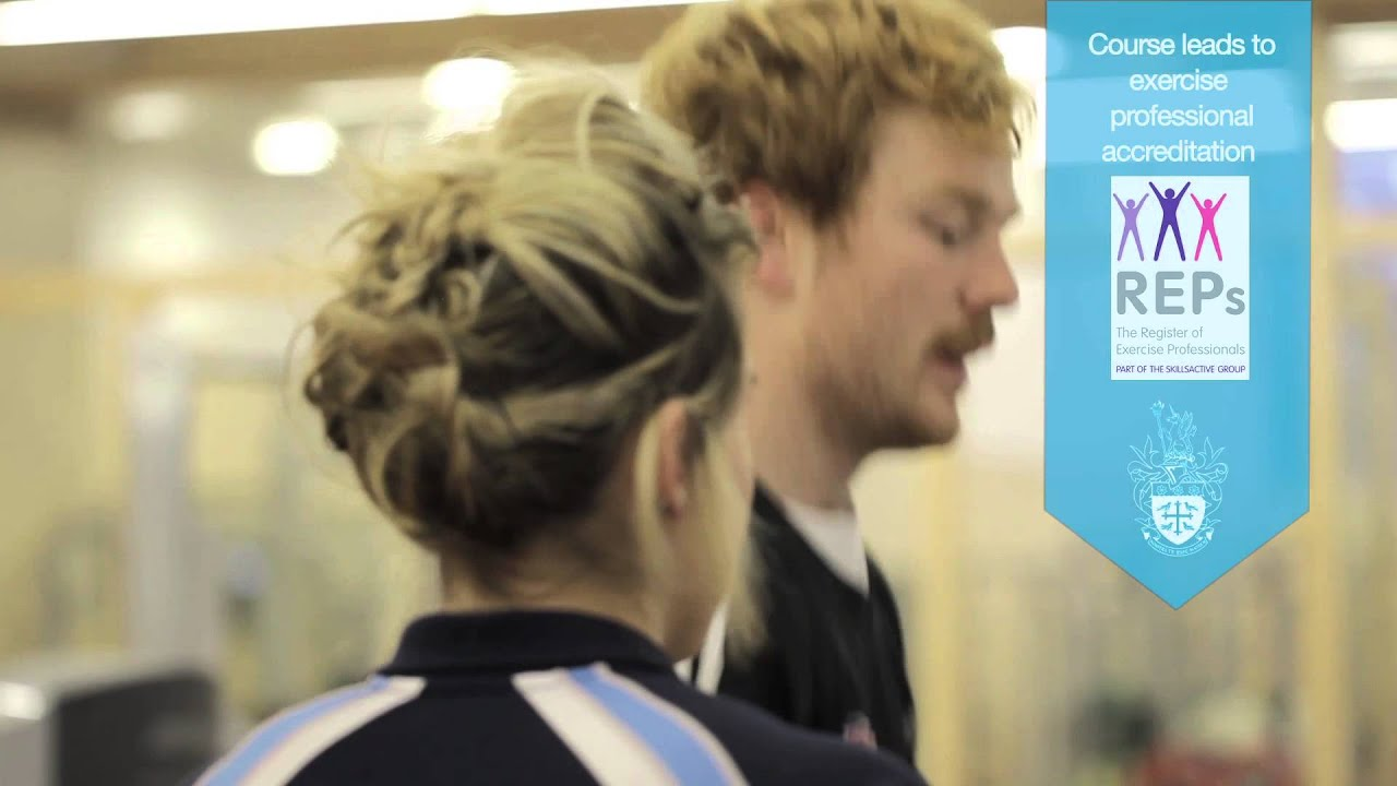 St Mary's Foundation Degree in Health Fitness or Sports Coaching