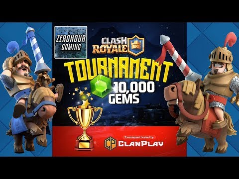 CLASH ROYALE FREE TOURNAMENT 10K GEMS WITH NEW CARDS AND GET FREE GOLD, CARDS AND MAYBE LEGENDARIES