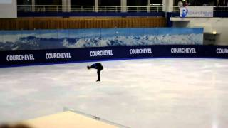 Jason Brown Courchevel 2010 Free Skate