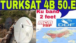 Download Video TURKSAT 4B 50.E dish settings channel list 2 feet me MP3 3GP MP4