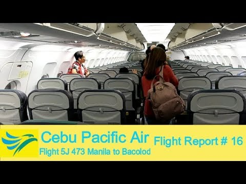 [FullHD] Flight Report # 16 | Cebu Pacific A320-200 Flight 5J 473 | Manila-Bacolod