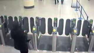 Acid Attack Victim Stalked By Veiled Suspect - Stratford Tube Station