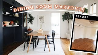 EXTREME Dining Room Makeover (From Start to Finish) *My Favorite Makeover Ever!*