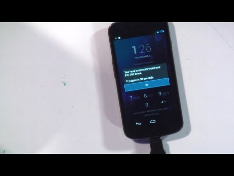 Hak5 1217.2, Hack Any 4-digit Android PIN In 16 Hours With A USB Rubber Ducky