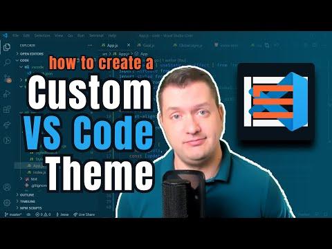 How To Create A Custom VS Code Theme (2020) | Step-by-Step | Debut Of CodeSTACKr Dark Theme