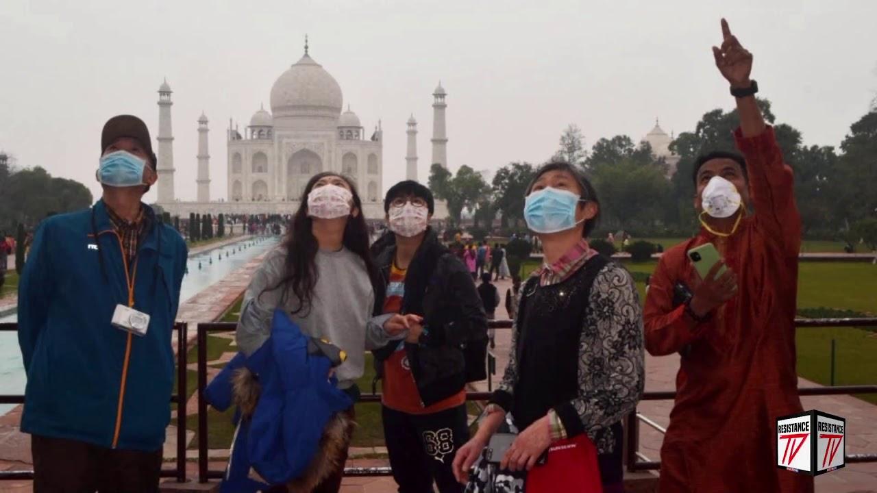 Taj Mahal permanece cerrado mientras India informa que registra casos diarios