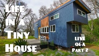 Live Q&a With Tiny House Basics Joshua & Shelley  Part 2 Of 2