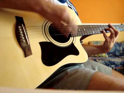 Nickelback-Savin me-Acoustic Guitar Cover w/tabs - YouTube