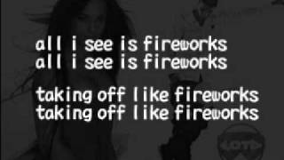 Drake ft Alicia Keys -- Fireworks lyrics[HD HQ]