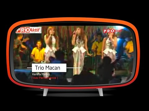 Trio Macan - Kereta Malam (Live Performance)