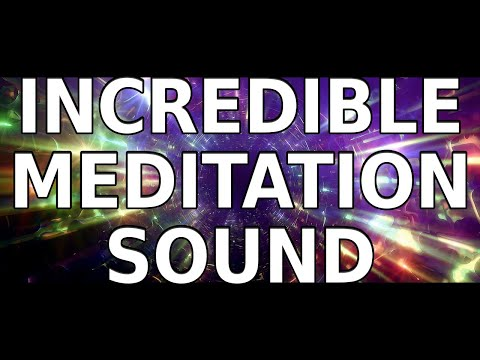 Incredible Meditation sound.