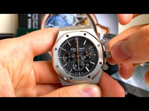 How To Set Time, Date And Chronograph On A Luxury Watch - Audemars Piguet