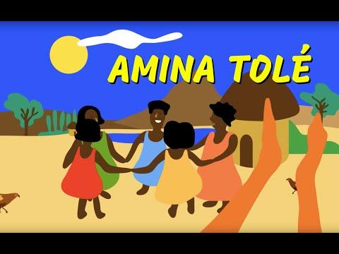 Amina - Comptine à geste d'Afrique pour les petits (avec paroles)