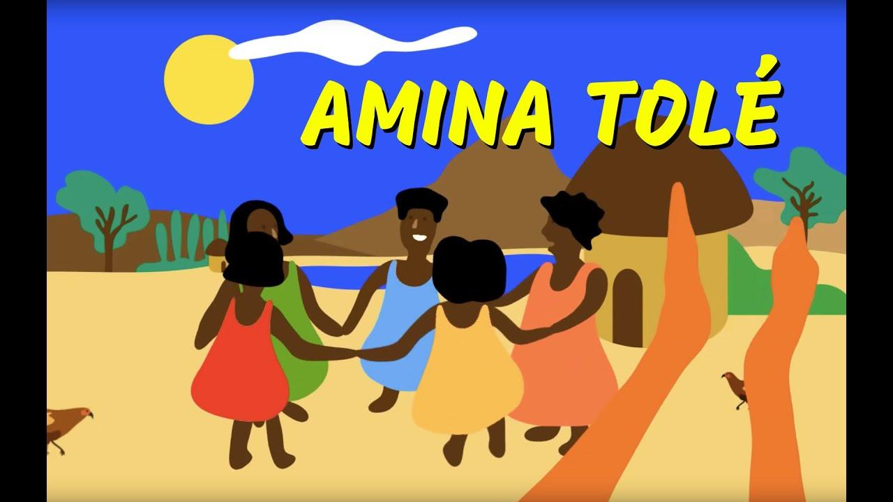 Amina - comptine africaine - enfant - maternelle - YouTube